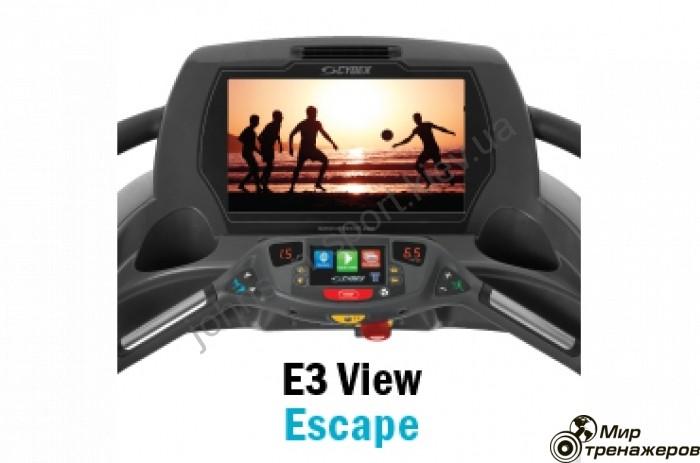 Профессиональная беговая дорожка Cybex 770T E3 View - 1