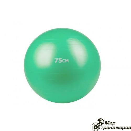 Мяч гимнастический, фитбол 75 см зелёный