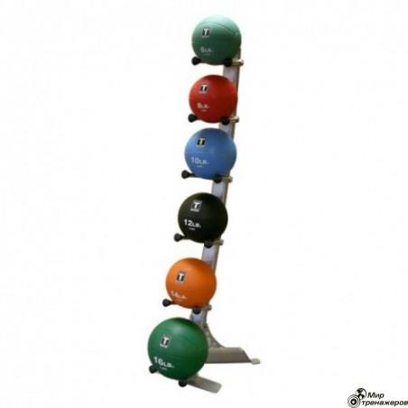 Стойка для 6 медицинских мячей GMR10