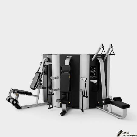 PLURIMA MULTISTATION - TOWER WITH LEG PRESS Technogym