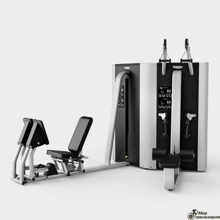 PLURIMA MULTISTATION - HIGH/LOW PULL/LEG PRESS  Technogym